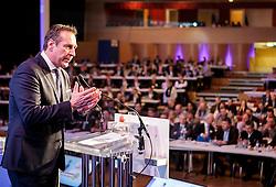 04.03.2017, AUT, FPÖ, 32. Ordentlicher Bundesparteitag, im Bild Bundesparteiobmann Heinz Christian Strache //  at the 32nd Ordinary Party Convention of the Freiheitliche Partei Oesterreich (FPÖ) in Klagenfurt, Austria on 2017/03/04. EXPA Pictures © 2017, PhotoCredit: EXPA/ Wolgang Jannach