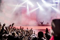June 10, 2017 - Stockholm, Sweden - Foto : MAGSAN : Summer burst  2017-06-10 PÃ… bilden:  David Guetta  Plats: Gärdet   Foto: Magnus Sandberg (Credit Image: © Aftonbladet/IBL via ZUMA Wire)