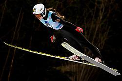 February 8, 2019 - Alexandra Kustova of Russia on first competition day of the FIS Ski Jumping World Cup Ladies Ljubno on February 8, 2019 in Ljubno, Slovenia. (Credit Image: © Rok Rakun/Pacific Press via ZUMA Wire)