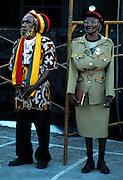 Old Rasta Couple at Tuff Gong