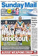 The Sunday Mail, front page 31 AUG 2014