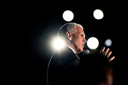 Donald Trump's running mate, Indiana Gov. Mike Pence, campaigns on Monday, October 10, 2016 in Charlotte, NC, USA. Pence appeared at a town hall event held at Centerstage@noda. Photo by John D. Simmons/Charlotte Observer/TNS/ABACAPRESS.COM