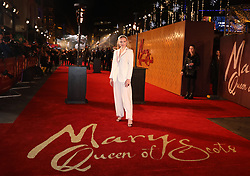 Maria-Victoria Dragus arrives at the European premiere of Mary Queen of Scots at Cineworld Leicester Square, London.