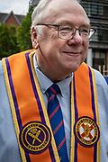 Grand Secretary, Orangeman, Orange March, Belfast 2021