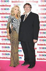 © Licensed to London News Pictures. 21/10/2013, UK. Lesley Dunlop, Inside Soap Awards, Ministry Of Sound, London UK, 21 October 2013. Photo credit : Richard Goldschmidt/Piqtured/LNP