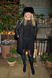 The Ivy Chelsea Garden's Guy Fawkes Party & Launch of The Winter Garden was held on 5th November 2016.<br /> Picture shows:-SOPHIE MICHELL.