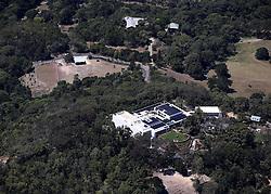 AU_1776848 - *EXCLUSIVE* Byron Bay, AUSTRALIA  - Chris Hemsworth & Elsa Pataky Byron Bay House - Aerials. Chris seems to be building a skate board ramp<br /> <br /> Pictured: GV, Chris Hemsworth<br /> <br /> BACKGRID Australia 5 NOVEMBER 2019 <br /> <br /> Phone: + 61 419 847 429<br /> Email:  sarah@backgrid.com.au