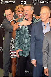 September 14, 2016 - Beverly Hills, Kalifornien, USA - Ted Raimi, Michelle Hurd, Bruce Campbell und Lee Majors beim Screening der TV-Serie 'Ash vs. Evil Dead' bei den 10. PaleyFest Herbst TV Previews im Paley Center for Media. Beverly Hills, 14.09.2016 (Credit Image: © Future-Image via ZUMA Press)