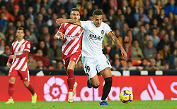 November 3, 2018 - Valencia, Valencia, Spain - Rodrigo Moreno of Valencia CF during the La Liga match between Valencia CF and Girona FC at Mestala Stadium on November 3, 2018 in Valencia, Spain (Credit Image: © AFP7 via ZUMA Wire)
