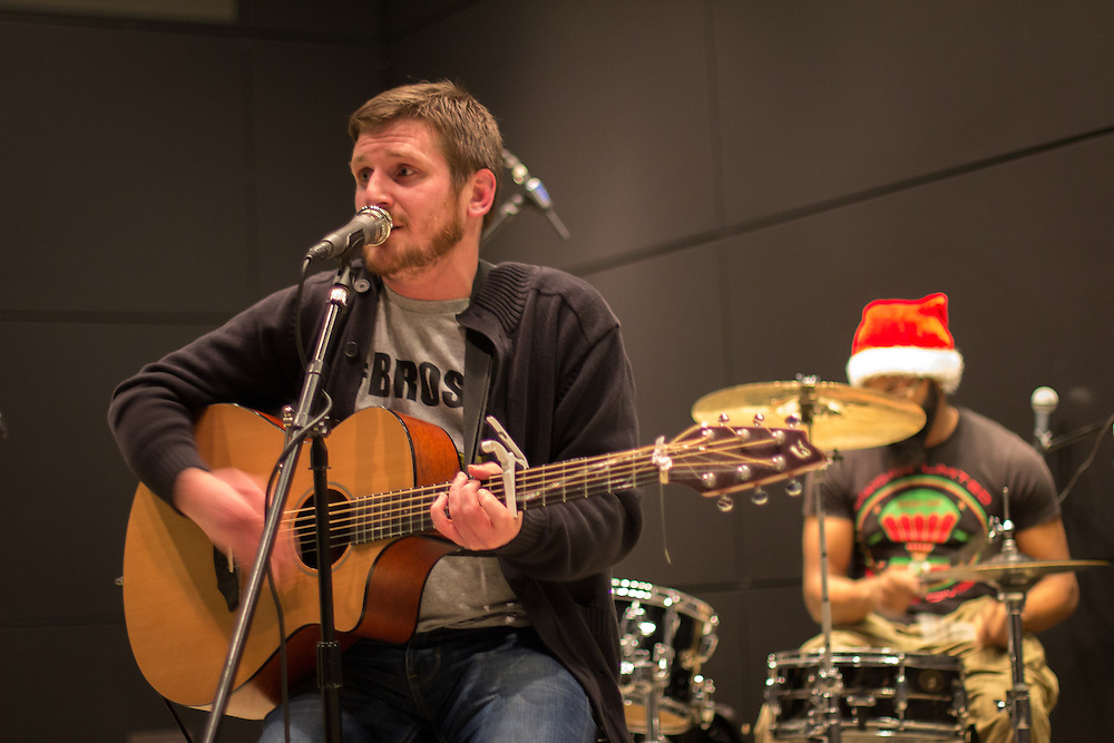 Nate Vaill and a Band Named Ashes perform at First Night Akron 2015