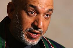 Hamid Karzai, President of Afghanistan. (Photo © Jock Fistick)