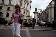 Around London, England in the summer.
