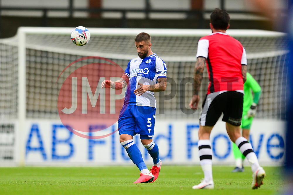 Max Ehmer of Bristol Rovers - Mandatory by-line: Dougie Allward/JMP - 15/08/2020 - FOOTBALL - Memorial Stadium - Bristol, England - Bristol Rovers v Exeter City - Pre-season friendly