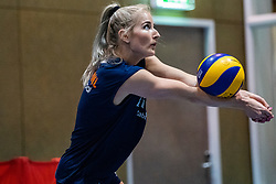 14-05-2019 NED: Training national volleyball team Women, Arnhem<br /> Dutch volleyball team women starts the training yesterday. There is a tough program ahead this summer. They starts with group matches of the VNL, then OKT in Catania in Italy, Worldcup in Japan and the European Championship played in Hungary / Marrit Jasper #18 of Netherlands