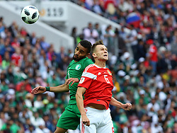 June 14, 2018 - Moscow, Russia - 14 June 2018, Russia, Moscow, FIFA World Cup, First Round, Group A, First Matchday, Russia vs Saudi Arabia at the Luzhniki Stadium. Player Denis Cheryshev  (Credit Image: © Russian Look via ZUMA Wire)