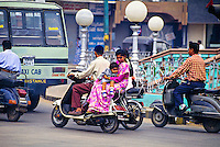 Motorscooters, Mysore, Karnataka, India