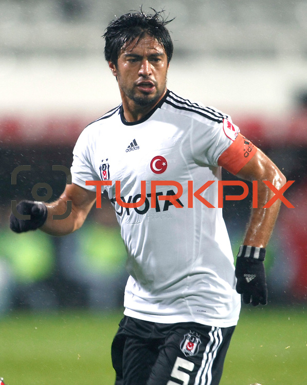 Besiktas's Ibrahim Toraman during their Turkey Cup matchday 3 soccer match Besiktas between Gaziantepspor BSB at the Inonu stadium in Istanbul Turkey on Wednesday 11 January 2012. Photo by TURKPIX