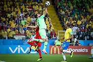 Alisson of Brazil during the 2018 FIFA World Cup Russia, Group E football match between Erbia and Brazil on June 27, 2018 at Spartak Stadium in Moscow, Russia - Photo Thiago Bernardes / FramePhoto / ProSportsImages / DPPI