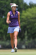 Lexi Thompson (USA) after sinking her putt on 1 during round 2 of the 2019 US Women's Open, Charleston Country Club, Charleston, South Carolina,  USA. 5/31/2019.<br /> Picture: Golffile | Ken Murray<br /> <br /> All photo usage must carry mandatory copyright credit (© Golffile | Ken Murray)