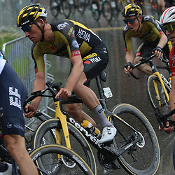 GSTAAD (SUI) CYCLING<br /> Tour de Suisse stage 4<br /> Start stage 4<br /> Mike Teunissen
