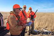 Lunch break while Pheasants Hunting in Eastern South Dakota