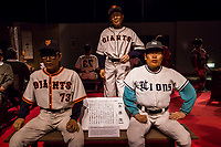 Japanese legendary baseball players at Heike Monogatari Wax Museum - The rise and fall of the Heike clan is reproduced in a massive scale using 260 wax figures, in seventeen scenes using historical dioramas. There is also a gallery introducing famous persons from Shikoku and Japan such as prime ministers, baseball players, enka singers and more.  This is the largest wax museum in Japan.  It's main theme, of course is the history of the genpei war, narrated by a lute playing priest.