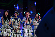 BURIRAM, THAILAND - OCTOBER 07: BNK48 on the main stage after the MotoGP PTT Thailand Grand Prix 2018, Chang International Circuit, Buriram, Thailand on October 07, 2018. <br /> .<br /> .<br /> .<br /> (Photo by: Naratip Golf Srisupab/SEALs Sports Images)<br /> .<br /> Any image use must include a mandatory credit line adjacent to the content which should read: Naratip Golf Srisupab/SEALs Sports Images