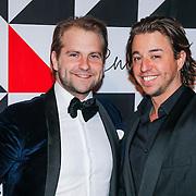 NLD/Amsterdam/20130322- Emma Fund Rasing avond 2013, Mik Meijer en David Bols