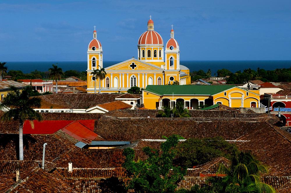 Nicaragua / Granada / Cathedral of Granada / Lake Granada / Spanish / Colonial