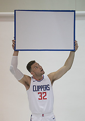 September 25, 2017 - Los Angeles, California, U.S - Blake Griffin #32 of the L.A. Clippers during Media Day on Monday September 25, 2017 at the L.A. Clippers training facility in Los Angeles, California. (Credit Image: © Prensa Internacional via ZUMA Wire)