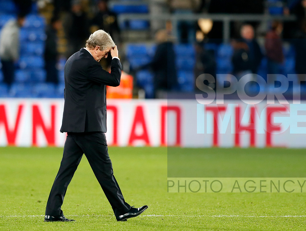 Crystal Palace's Roy Hodgson in action during the Carabao cup match at Selhurst Park Stadium, London. Picture date 19th September 2017. Picture credit should read: David Klein/Sportimage