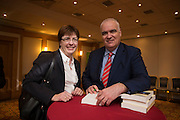 NO FEE PICTURES<br /> 20/1/16  Noel Whelan with Therese Marry, DIT, at the launch of his book, The Tallyman's Campaign Handbook at the Alexander Hotel in Dublin. Picture: Arthur Carron