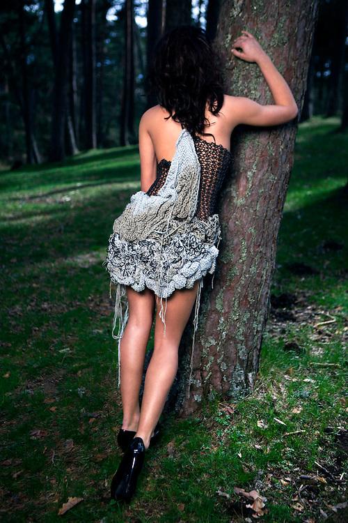 Photgrpaher: MIGUEL PEREIRA<br /> Fashion designer: INÉS LACASA<br /> Model: YANA VOLKOVA<br /> Make-up and hair stylist: MARTA DE ANDRÉS