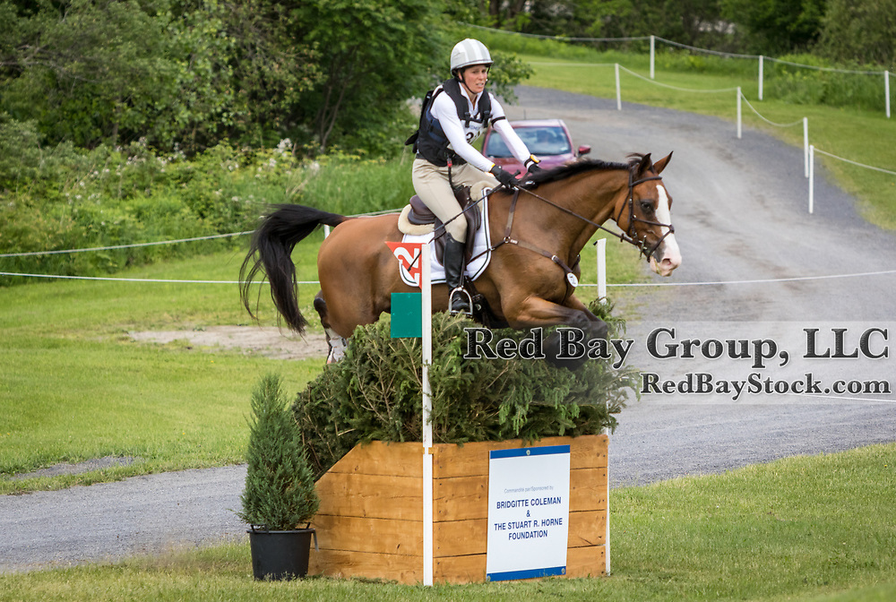 Annie Goodwin (USA) and Fedarman B at the MARS Incorporated Bromont CCI Three Day Event in Bromont, Quebec.