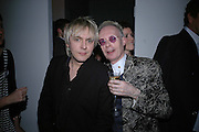 NICK RHODES AND ANTHONY FAWCETT, Art Plus Music party. Fundraiser for the Whitechapel. 30 March 2006. ONE TIME USE ONLY - DO NOT ARCHIVE  © Copyright Photograph by Dafydd Jones 66 Stockwell Park Rd. London SW9 0DA Tel 020 7733 0108 www.dafjones.com