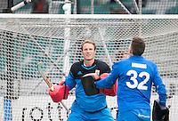 ROTTERDAM -HOCKEY - ABN AMRO CUP , als voorbereiding op de competitie. Oranje-Rood -  keeper Pirmin Blaak.   COPYRIGHT KOEN SUYK