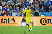 Romania Defender Razvan Rat during the Group A Euro 2016 match between France and Romania at the Stade de France, Saint-Denis, Paris, France on 10 June 2016. Photo by Phil Duncan.