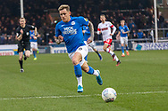 GOAL - Sam Szmodics latches onto a ball to score Peterborough's 2nd during the EFL Sky Bet League 1 match between Peterborough United and Rotherham United at London Road, Peterborough, England on 25 January 2020.
