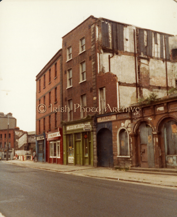 Old Dublin Amature Photos July 1983 WITH, Quays, McGowan BROS ltd, Christ Church, Arran Quay, Chambers, Nordmende, Falling Down Buildings, Old amateur photos of Dublin streets churches, cars, lanes, roads, shops schools, hospitals