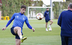 September 13, 2017 - Kiev, Ukraine - Dynamo Kyiv's player Aleksandar Pantic is seen during the training session in Kyiv, Ukraine, September 13, 2017. FC Dynamo Kyiv gets the last preparation before the game against Albanian Skenderbeu in the UEFA Europa League Group B opener. (Credit Image: © Sergii Kharchenko/NurPhoto via ZUMA Press)