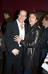 Left to right,  PAUL MCKENNA and JAY KAY at a party to celebrate the publication of Paul McKenna's new book 'I Can Make You Thin' held at the Soho Hotel, 4 Richmond Mews, London W1 on 8th March 2005.<br /><br />NON EXCLUSIVE - WORLD RIGHTS