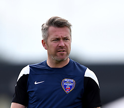 Willie Kirk manager of Bristol Academy Women - Mandatory by-line: Paul Knight/JMP - Mobile: 07966 386802 - 13/09/2015 -  FOOTBALL - Stoke Gifford Stadium - Bristol, England -  Bristol Academy Women v Liverpool Ladies FC - FA WSL Continental Tyres Cup
