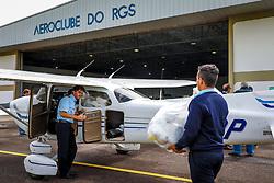 Instituto Cultural Floresta (ICF) envia kits de proteção e álcool em gel para Hospitais do Interior do RS. Foto: Marcos Nagelstein/ Agência Preview