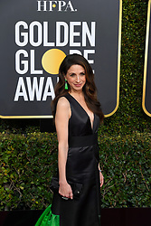 January 6, 2019 - Los Angeles, California, U.S. - Marin Hinkle during red carpet arrivals for the 76th Annual Golden Globe Awards at The Beverly Hilton Hotel. (Credit Image: © Kevin Sullivan via ZUMA Wire)