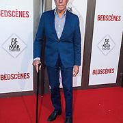 NLD/Amsterdam/20140622 - Premiere Bedscenes, Frans Molenaar met wandelstok