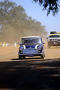 Classic original Morris Mini Minor at the Caversham Historic Motoring Fair. Caversham, Perth, Western Australia.<br /> Sunday, 15th November 2009