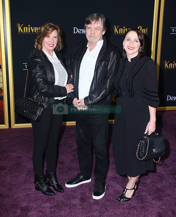 Knives Out Premiere at The Regency Village Theater in Westwood, California on 11/14/19. 14 Nov 2019 Pictured: Mark Hamill. Photo credit: River / MEGA TheMegaAgency.com +1 888 505 6342