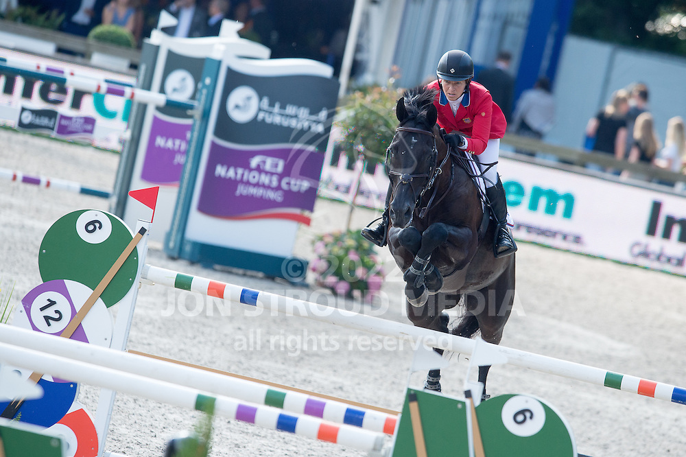 Beezie Madden (USA) & Cortes C - Furusiya FEI Nations Cup presented by Longines - CHIO Rotterdam 2016 - Kralingse Bos, Rotterdam, Netherlands - 24 June 2016