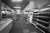 1966 Interior of Farren's shoe Store, Parnell Street, Dublin