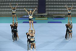 August 6, 2018 - Paris, FRANCE - San Diego Cheerleaders team (Credit Image: © Panoramic via ZUMA Press)